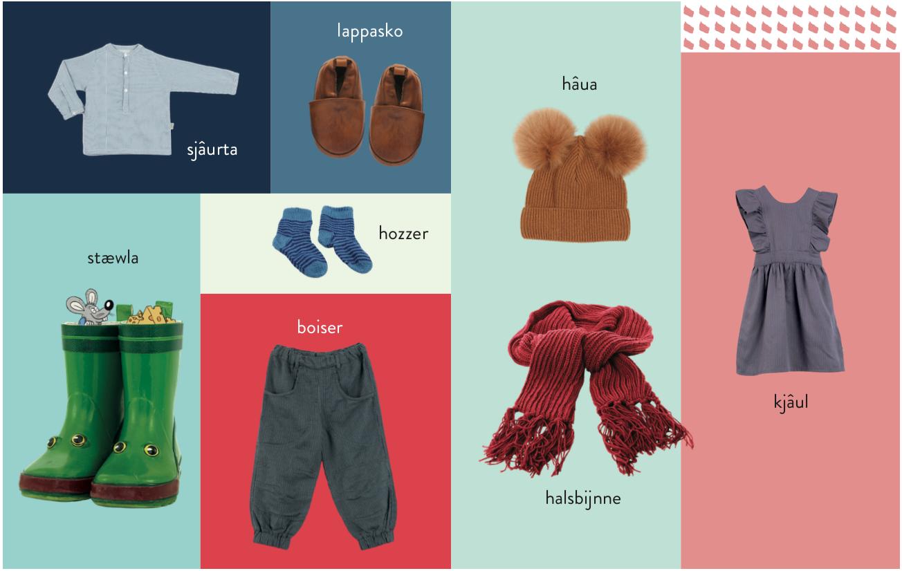 Mine første bornholmske ord – tøj
